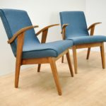 Armchairs, Model 300-123 by Marian Puchała for Bystrzyckie Furniture Factory, 1960s, Set of 2