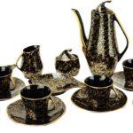 Vintage Model Iza Porcelain Coffee Service by Józef Wrzesień for Chodziez, 1960s