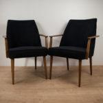 Vintage German Armchairs, 1960s, Set of 2
