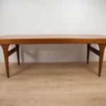 Scandinavian Teak Coffee Table by Johannes Andersen for CFC Silkeborg, 1960s