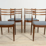 Vintage Dining Chairs by Victor Wilkins for G-Plan, 1960s, Set of 4