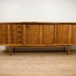 Vintage walnut sideboard, 1960 s