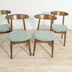 Polish Mid-Century Dining Chairs , Set of 4