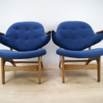 Armchairs, Model 33 by Carl Edward Matthes, 1950s, Set of 2