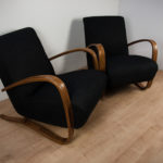 H-269 Lounge Chairs by Jindřich Halabala for UP Závody, 1950s, Set of 2