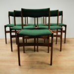 Mid-Century Dining Chairs by Erik Buch for Oddense Maskinsnedkeri, Set of 6