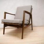Fotel typ 300-139, Swarzędzka Fabryka Mebli, Polska, lata 60.