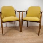 Vintage Danish Armchairs, 1960s, Set of 2