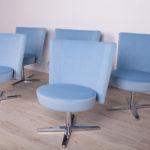 Swivel Chairs Centrum from Sandin & Bülow, 1990 s., Set of 5