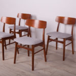 Mid-Century Teak Dining Chairs , 1960s, Set of 4