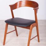 Krzesło, proj. K. Kristiansen, Korup Stolefabrik, Dania, lata 60.