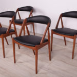 Model 31 Dining Chairs by Kai Kristiansen for Schou Andersen, 1960s, Set of 4