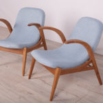 Armchairs from Uluv, 1960s, Set of 2