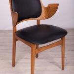 Krzesło Model 107, proj. H. Olsen, Bramin Mobler, Dania, lata 50