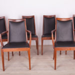 Komplet czterech krzeseł i dwóch foteli, G-Plan, Wielka Brytania, lata 60.