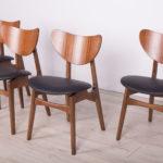 Komplet czterech krzeseł Librenza, G-Plan, Wielka Brytania, lata 50.