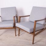 Para foteli 300-139, Swarzędzka Fabryka Mebli, Polska, lata 60
