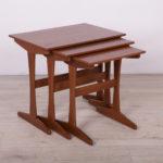Komplet trzech stolików, Wielka Brytania, lata 60.