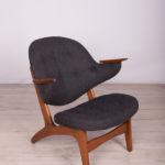 Fotel model 33, proj. C. E. Matthes, Dania, lata 50.