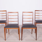 Komplet czterech krzeseł, McIntosh, Wielka Brytania, lata 60.