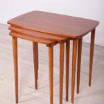 Danish Mid Century Teak Nesting Tables , 1960s