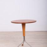 Scandinavian Modern Side Table by Albert Larsson for Alberts Tibro, 1950s