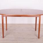 Danish Rungstedlund Dinning Table by O. Wanscher for Poul Jeppesen Møbelfabrik, 1960s