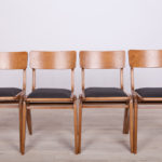Bumerang Dining Chairs from Gościcińskie Furniture Factory, 1960s, Set of 4