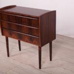 Mid Century Small Danish Rosewood Dresser, 1960s