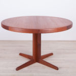 Mid Century Extendable Dining Table by Henry Walter Klein for Bramin, 1970s
