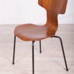 Krzesło model 3103, proj. A. Jacobsen, Fritz Hansen, Dania, lata 70.