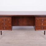 Palisandrowe biurko, proj. A. Vodder, Sibast, Dania, lata 50.