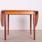 Rozkładany stół tekowy, Dania, lata 60.