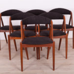 No. 31 Dining Chairs by Kai Kristiansen for Schou Andersen, 1960s, Set of 6