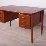 Wolnostojące biurko, Dania, lata 60.