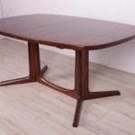 Rozkładany stół, proj. N.O. Møller, Dania, lata 70.