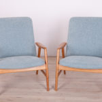 Danish Lounge Chairs by Alf Svensson for Fritz Hansen, 1960s, Set of 2