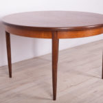 Okrągły rozkładany stół, G-Plan, Wielka Brytania, lata 60.