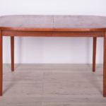 Rozkładany stół, proj. N. Jonsson, Troeds Bjärnum, Szwecja, lata 60.