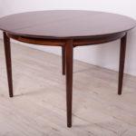 Rozkładany stół, proj. A. Vodder, Sibast, Dania, lata 60.