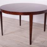 Palisandrowy stół, proj. S. Hansen, Haslev Møbelsnedkeri, Dania, lata 60