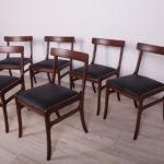 Komplet sześciu krzeseł Rungstedlund, proj. O. Wanscher, Poul Jeppesen Møbelfabrik, Dania, lata 60.