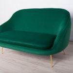 Dwuosobowa sofa, Włochy, lata 70.