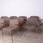 Komplet dwunastu foteli konferencyjnych, Duba, Dania, lata 60.