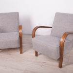 Beech Armchairs by Karel Kozelka & Antonin Kropacek, 1940s, Set of 2