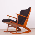 Mid Century Rocking Chair Model No97 by Georg Jensen for Kubus, 1950s