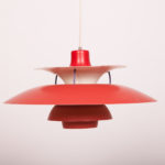 Lampa PH5, proj. P. Henningsen, Louis Poulsen, lata 60.
