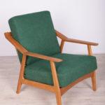 Fotel, proj. H. Brockmann, Randers Møbelfabrik, Dania, lata 60.
