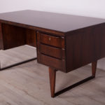 Wolnostojące biurko palisandrowe, Dania, lata 60.