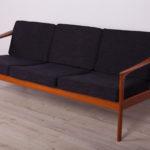 Sofa Monterey, proj. F. Ohlsson, Bodafors, Szwecja, lata 60.